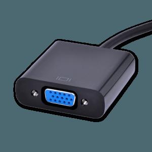 HDMI naar VGA (+ Audio) Adapter met Extra Voeding - VGA Aansluiting (Vrouwelijk)