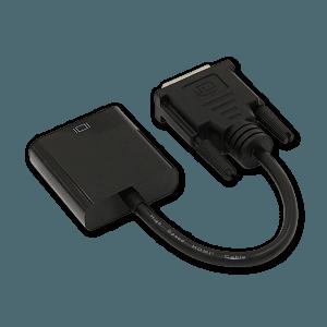 DVI-D naar VGA Adapter - Achterkant