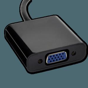 DVI-D naar VGA Adapter - VGA Aansluiting (Vrouwelijk)