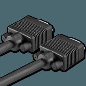 VGA Kabel - Achterkant