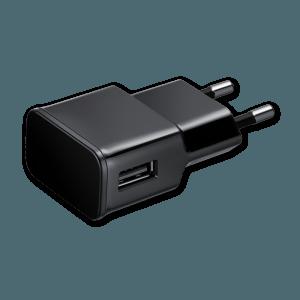 USB Oplader - Zijkant