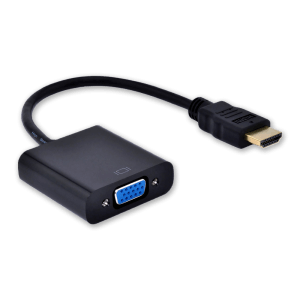 HDMI naar VGA (+ Audio) Adapter - Zijkant