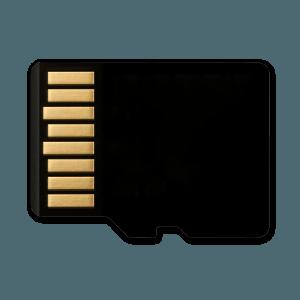 Micro SD Kaart - 32GB - Achterkant