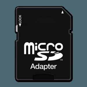 Micro SD Kaart Adapter (Meegeleverd)