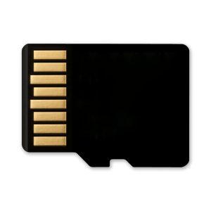 Micro SD Kaart - 64GB - Achterkant