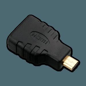 Micro HDMI naar HDMI Verloopstekker - Micro HDMI Aansluiting (Mannelijk)