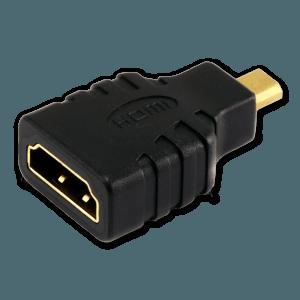 Micro HDMI naar HDMI Verloopstekker - HDMI Aansluiting (Vrouwelijk)