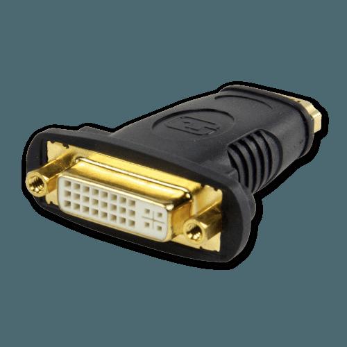 HDMI naar DVI Adapter - DVI Aansluiting (Vrouwelijk)