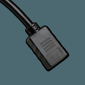 Mini DisplayPort naar DisplayPort Adapter - DisplayPort Aansluiting (Vrouwelijk)