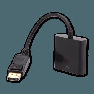 DisplayPort naar VGA Adapter - Voorkant