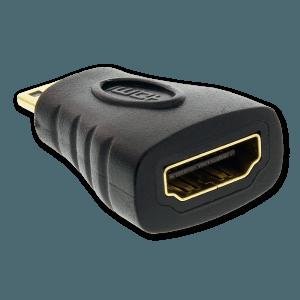 Mini HDMI naar HDMI Verloopstekker - HDMI Aansluiting (Vrouwelijk)