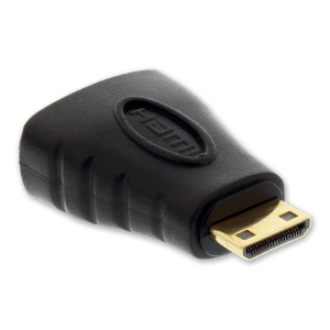 Mini HDMI naar HDMI Verloopstekker - Mini HDMI Aansluiting (Mannelijk)
