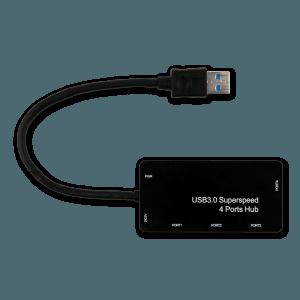 USB 3.0 Hub - Bovenkant