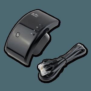 WiFi Versterker + Ethernet Kabel (Meegeleverd)