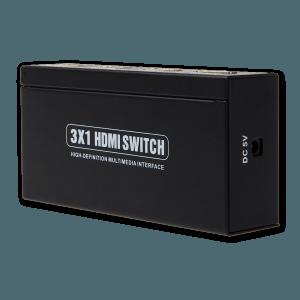 HDMI Switch 3x1 - Zijkant