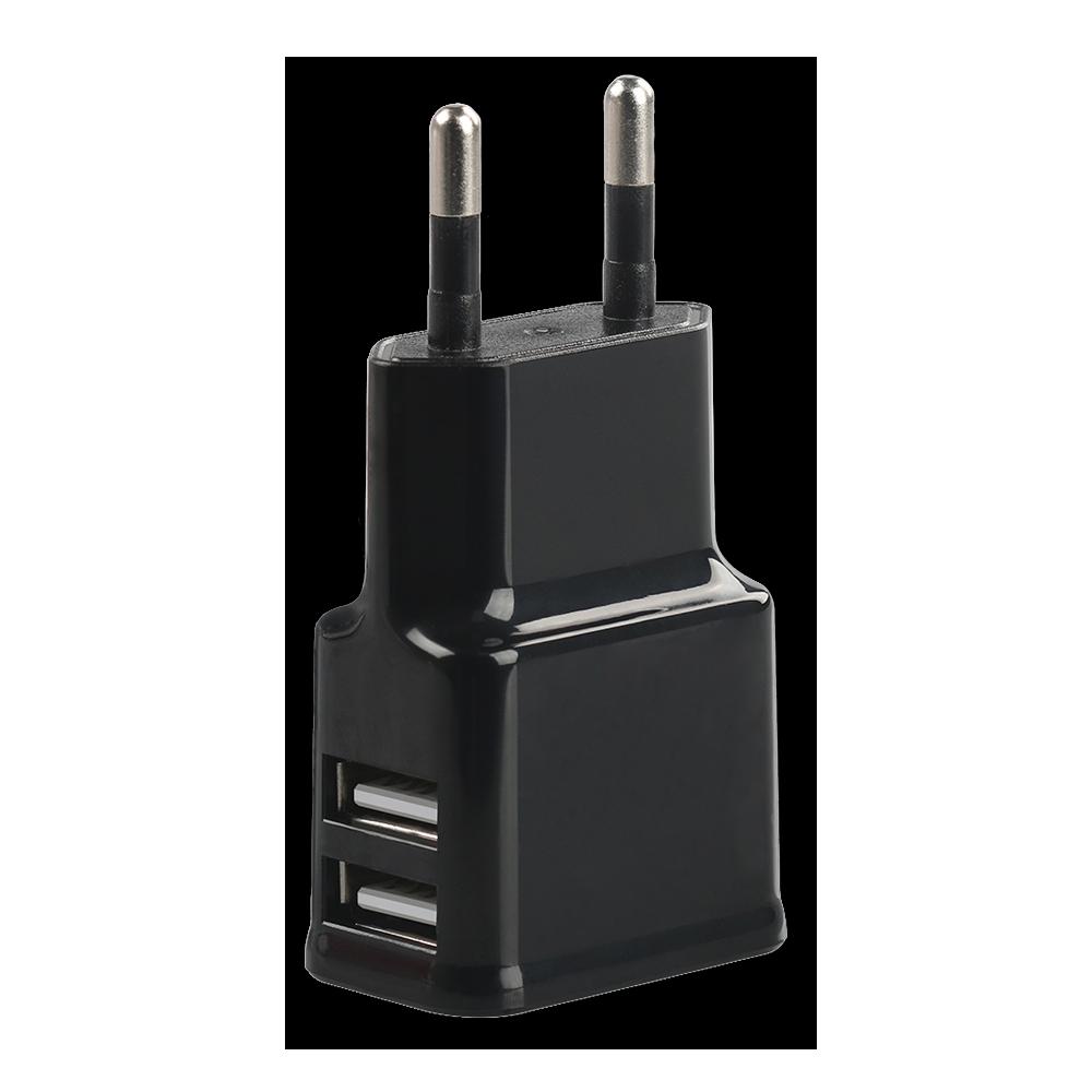 USB Oplader - 2 Poorts