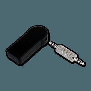 Bluetooth Receiver - Achterkant + AUX Plug