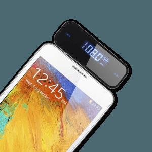 FM Transmitter - Aangesloten op Android Telefoon