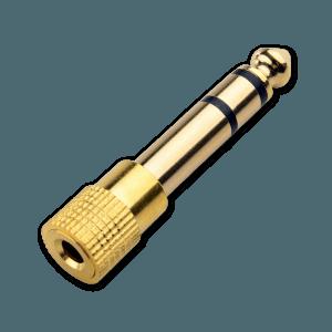 Jack Plug - 6.3mm naar 3.5mm - 3.5mm Aansluiting (Vrouwelijk)